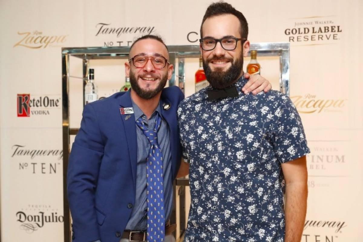Luis Pagán (La Coctelera) and José 'Chuck' Rivera (JungleBird) were the finalists of World Class Bartender Puerto Rico 2018 competition.