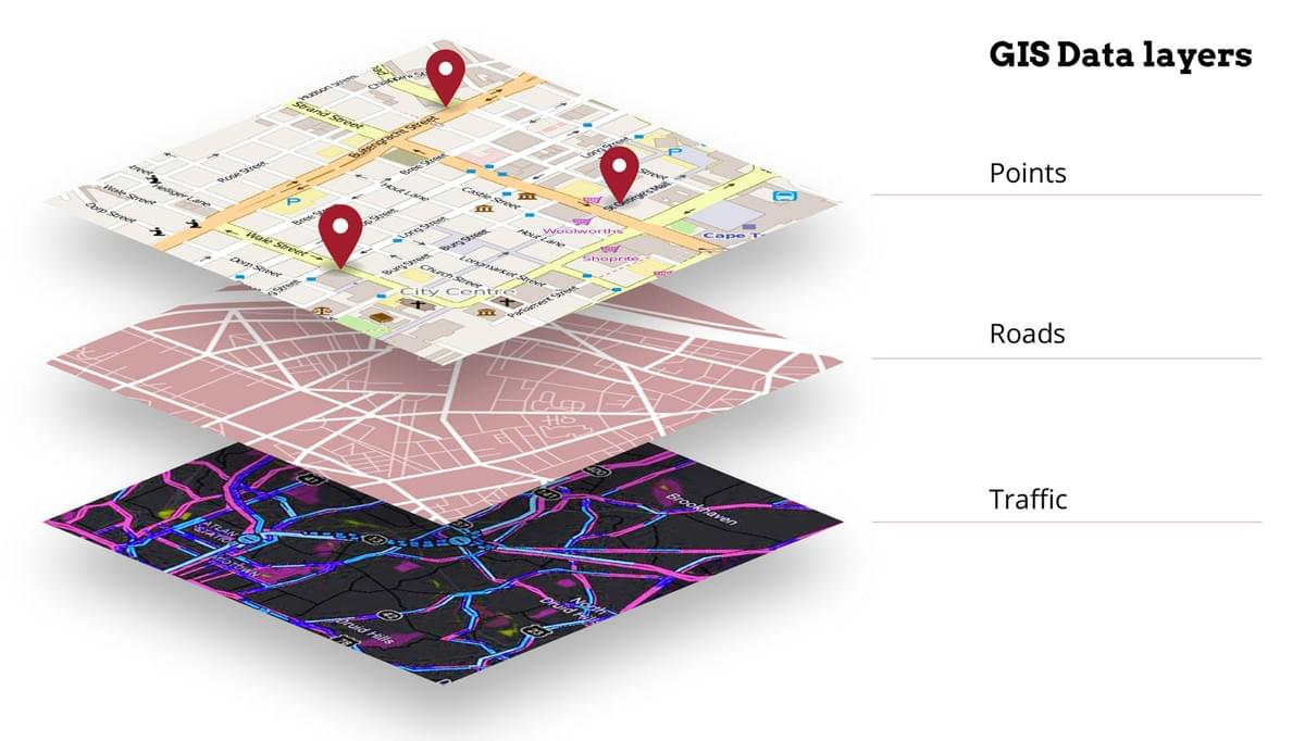 GIS infrastructure mapping and maintenance is possible with technological devices and cameras equipped with the proper sensors.