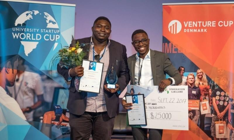 Image of Venture Cup Denmark and University Startup World Cup.