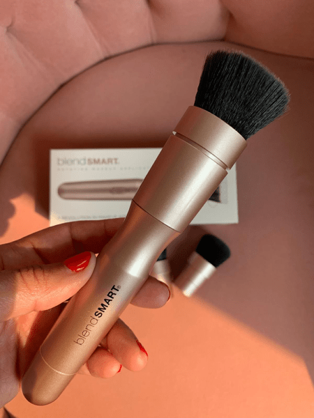BlendSMART rotating makeup brush 3 piece starter kit