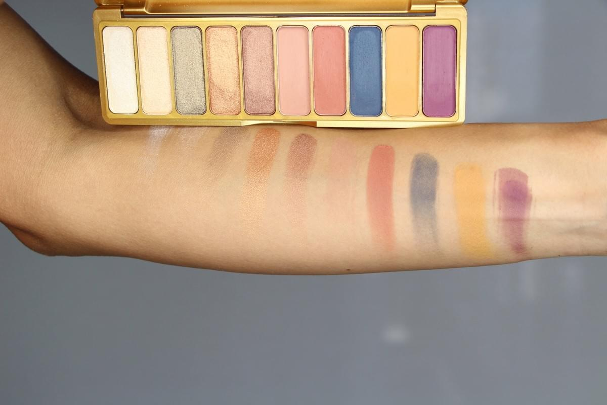 E.L.F. Cosmetics Modern Metals Collection Eyeshadow Palette Swatches
