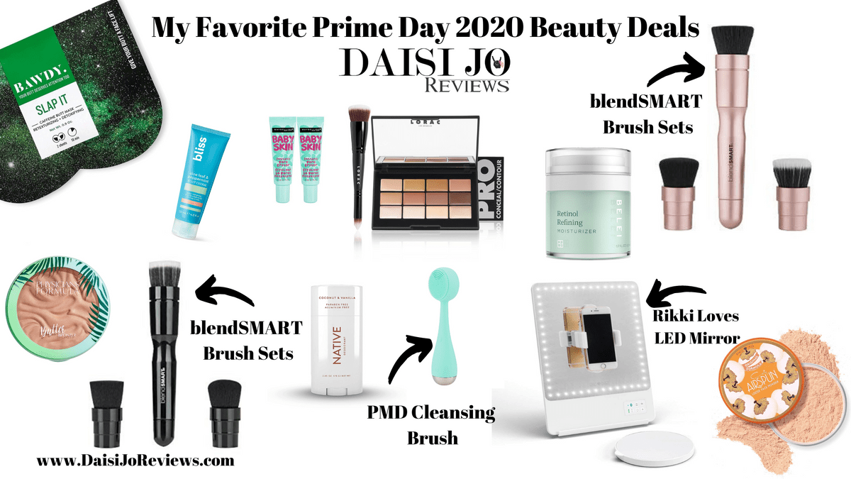 Daisi Jo Reviews Favorite Prime Day 2020 Beauty Deals