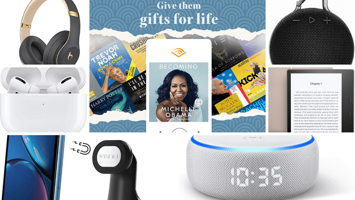 Daisi Jo Reviews Audiobook Gift Guide 2019