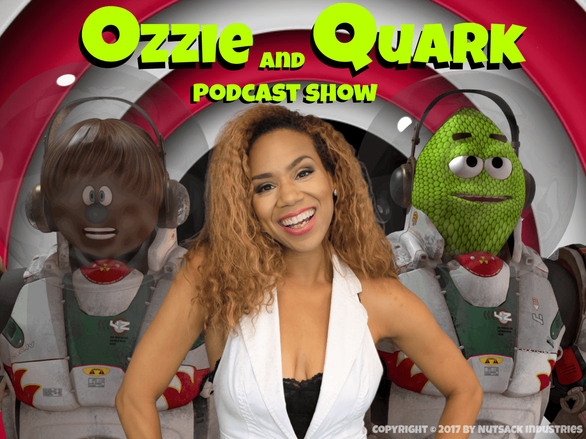 Daisi Pollard Sepulveda Guest Stars in Ozzie and Quark on Amazon.