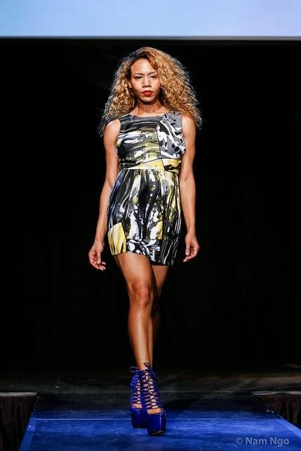 Daisi Walks In LA Fashion Week -Emerging Designers Show