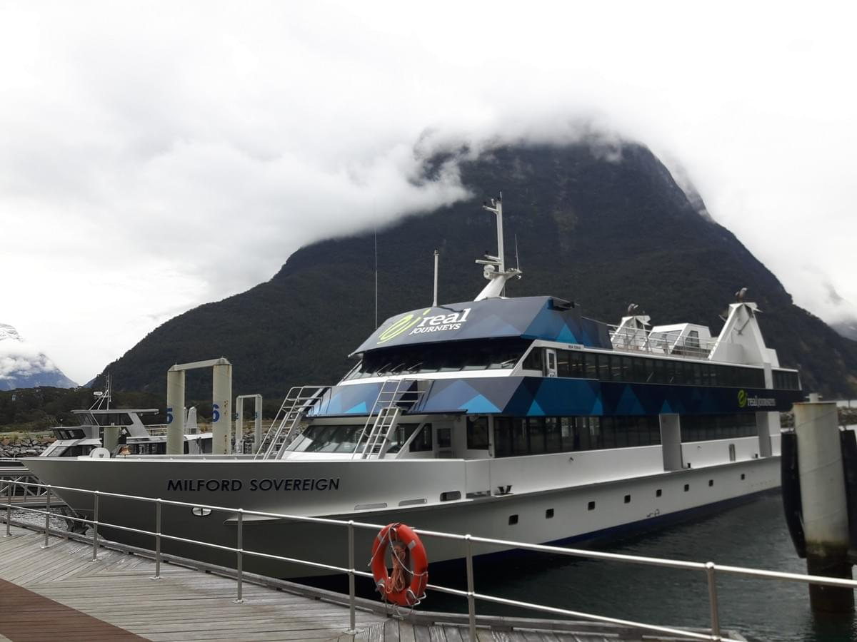 Milford Sound Cruise, New Zealand