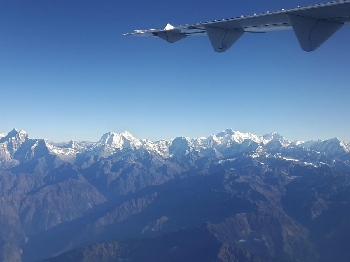 Everest Mountain Flight, Kathmandu