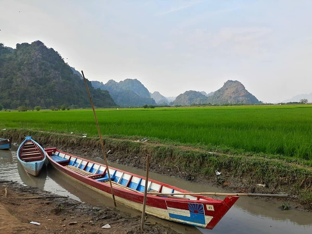Boat Ride Drop Off Point behind Sadan Cave, Hpa An, Myanmar