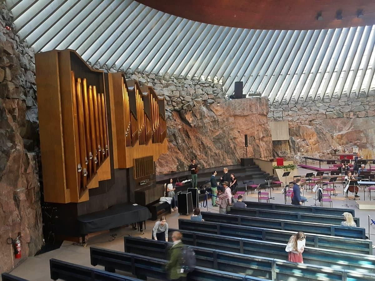 Rock Church from Inside