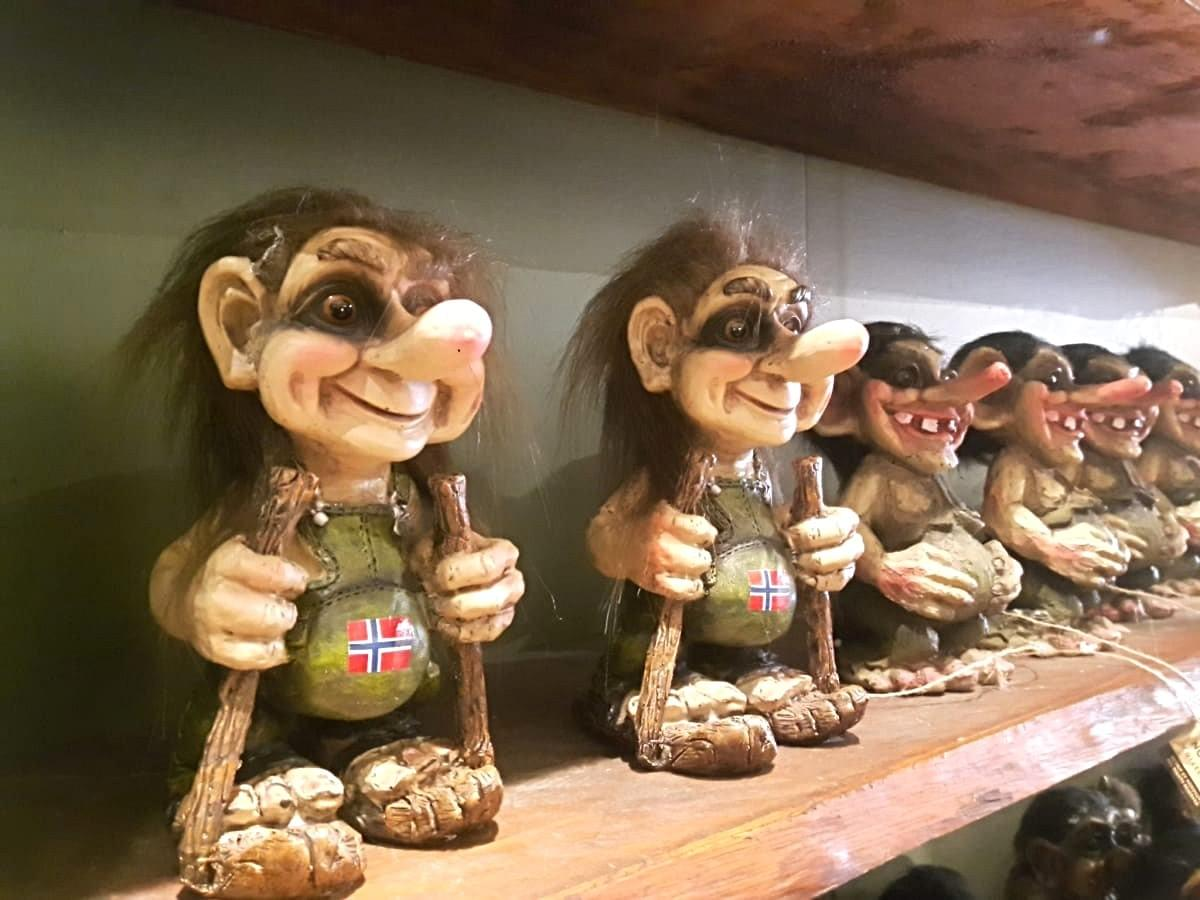 Trolls at Souvenir Shop