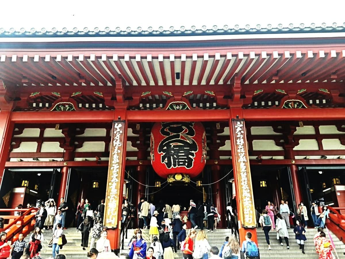 Main Prayer Hall at Asakusa Kanon Temple