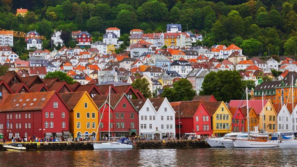 Bergen City Center, UNESCO Wharf