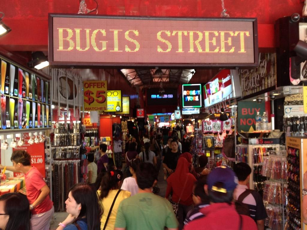 Bugis Street, The Tiny Island SINGAPORE.
