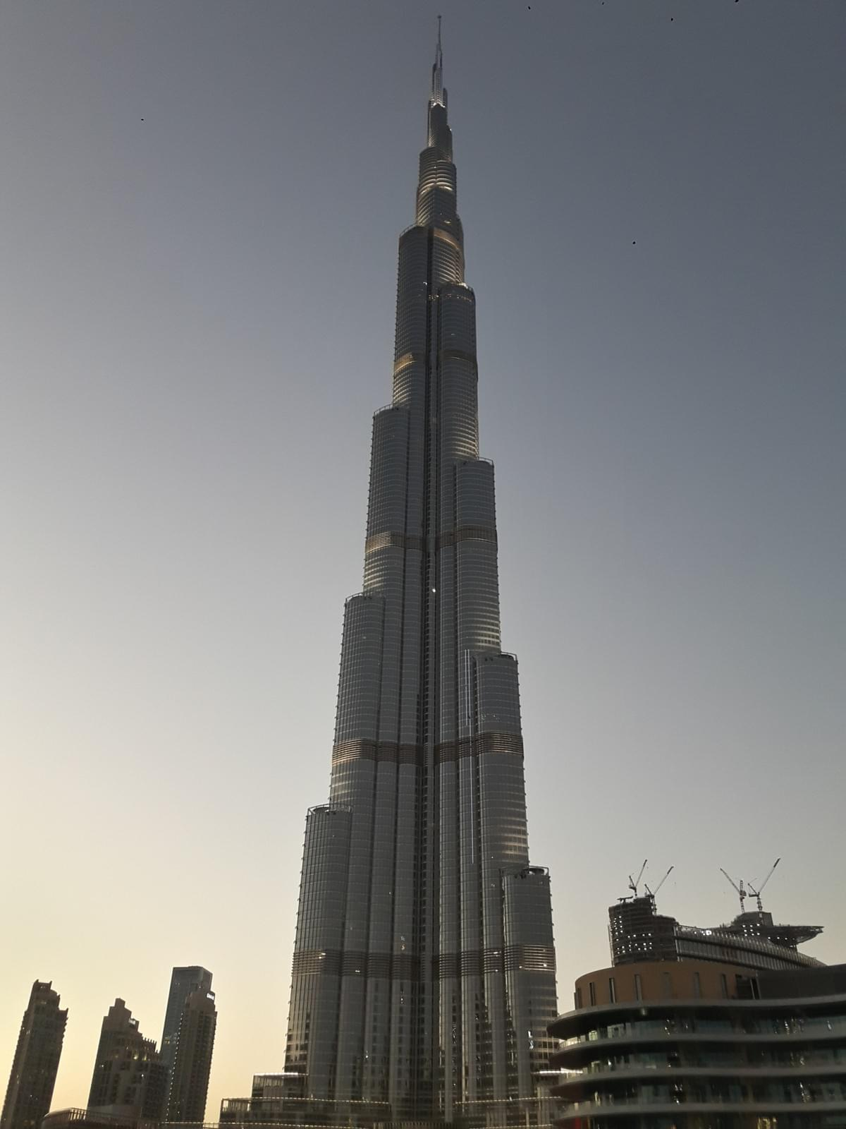 Burj Khalifa - Places to Visit in Dubai