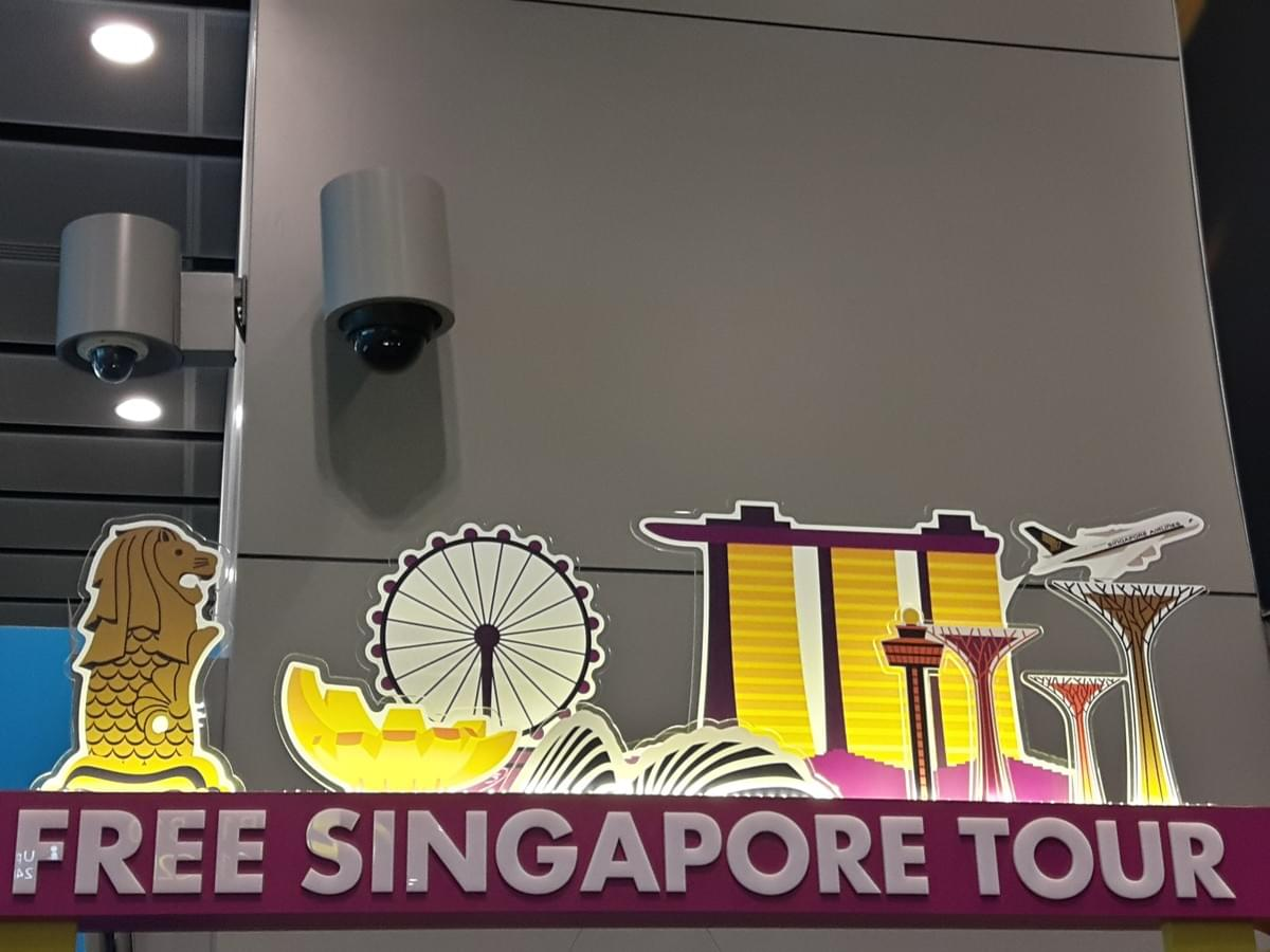 Free Singapore Tour Counter at Changi International Airport, Make Most Of Your Transit Time At CHANGI Airport.