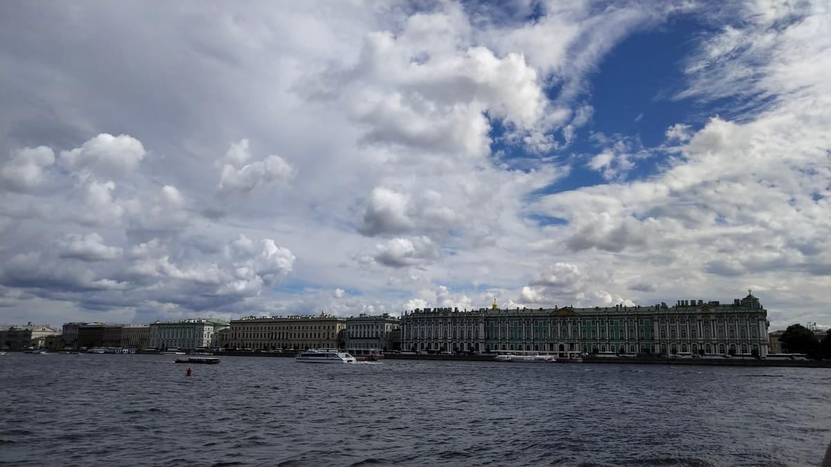 Hermitage Museum Facade - Best Places To Visit in St. Petersburg