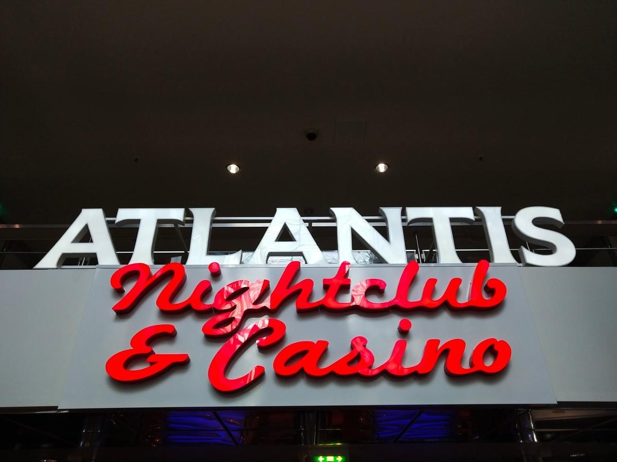 Atlantis NightClub and Casino on Deck 8