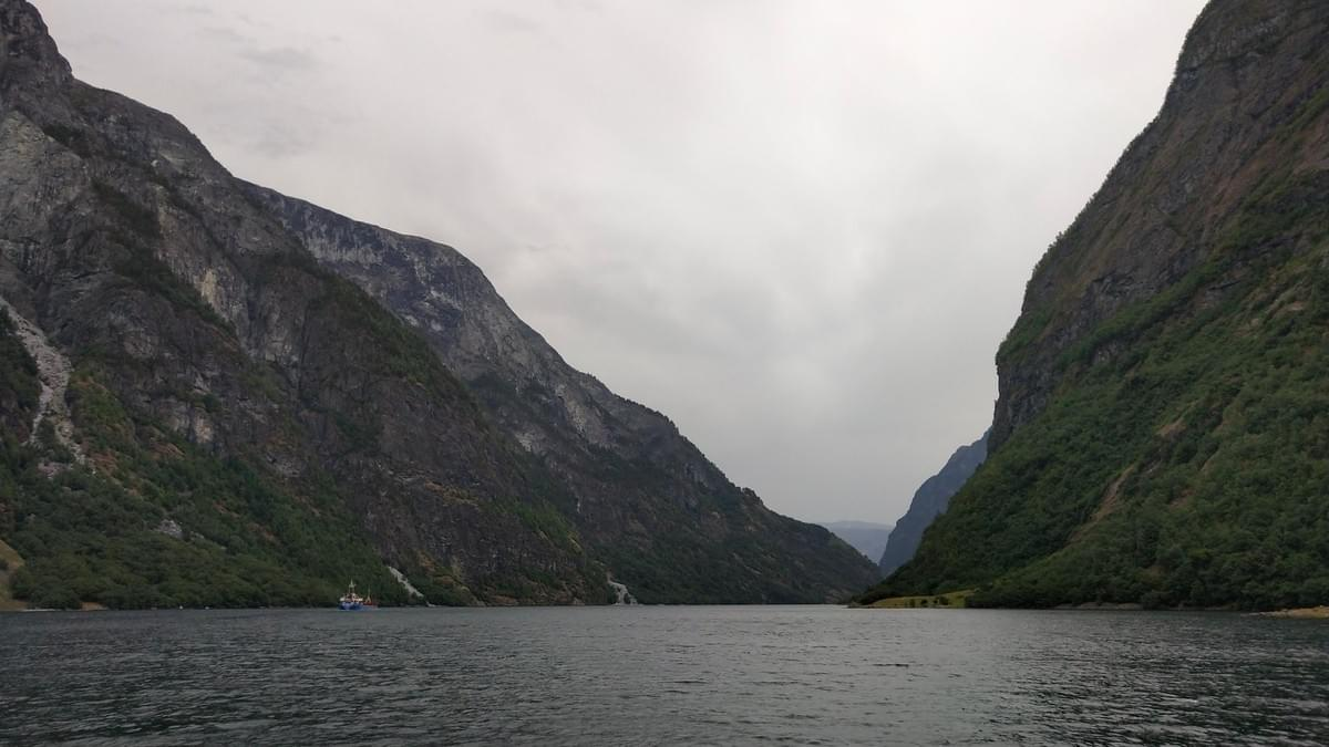 Fjords From The Cruise