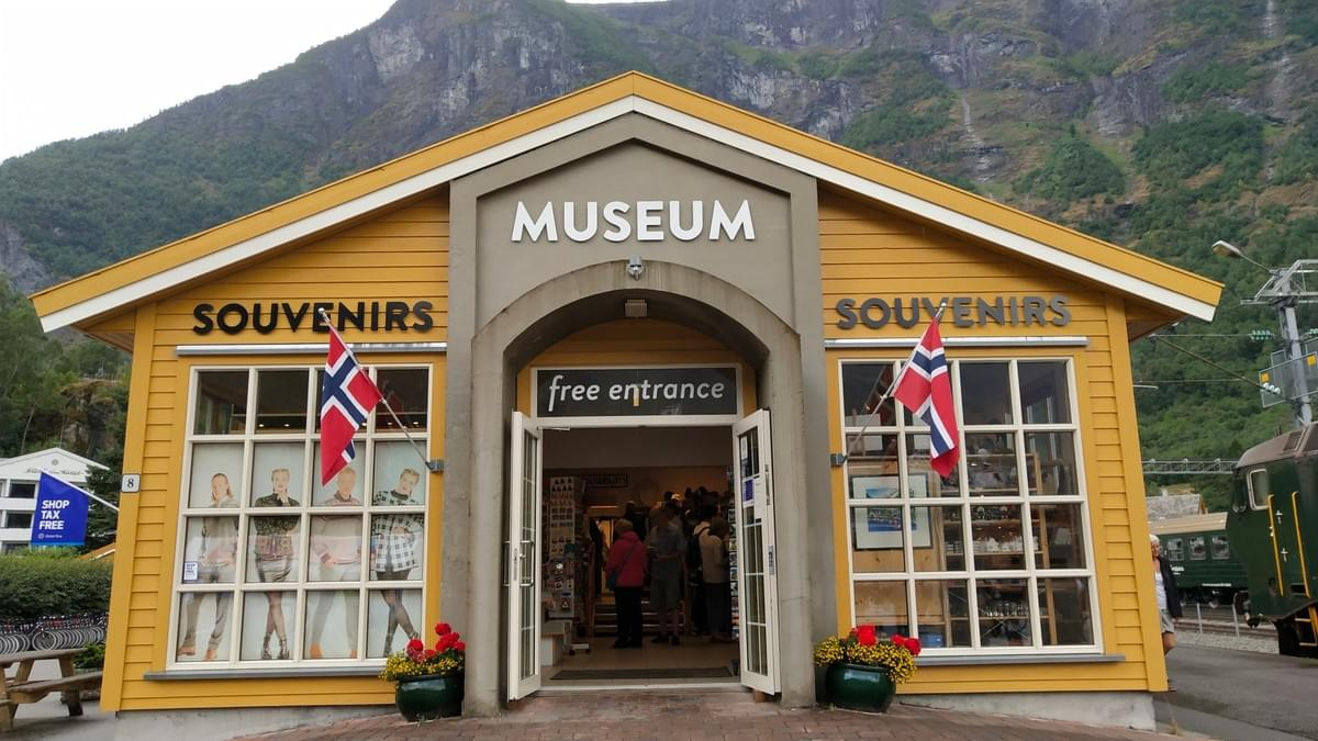 Flam Museum at Flam Train Station