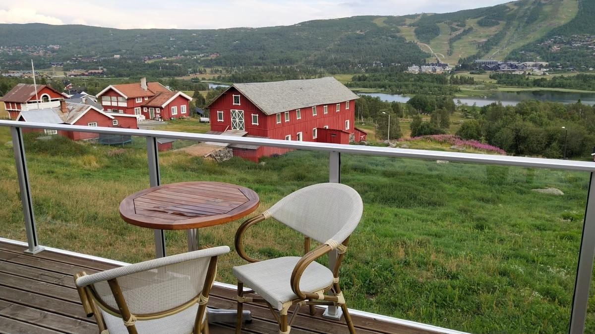 View From My Hotel Room at Geilo