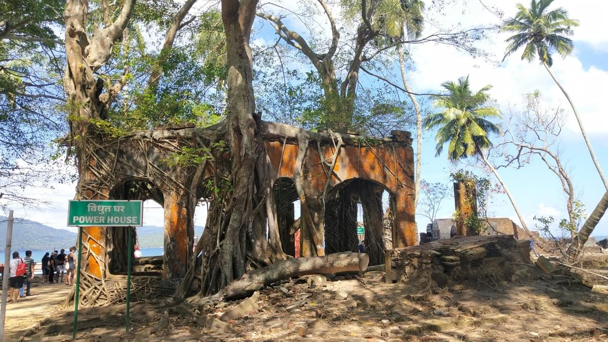 The Ruins of Power House at Ross Island. Places to Visit in Andaman. Image Source - Mitali's Travel Diary
