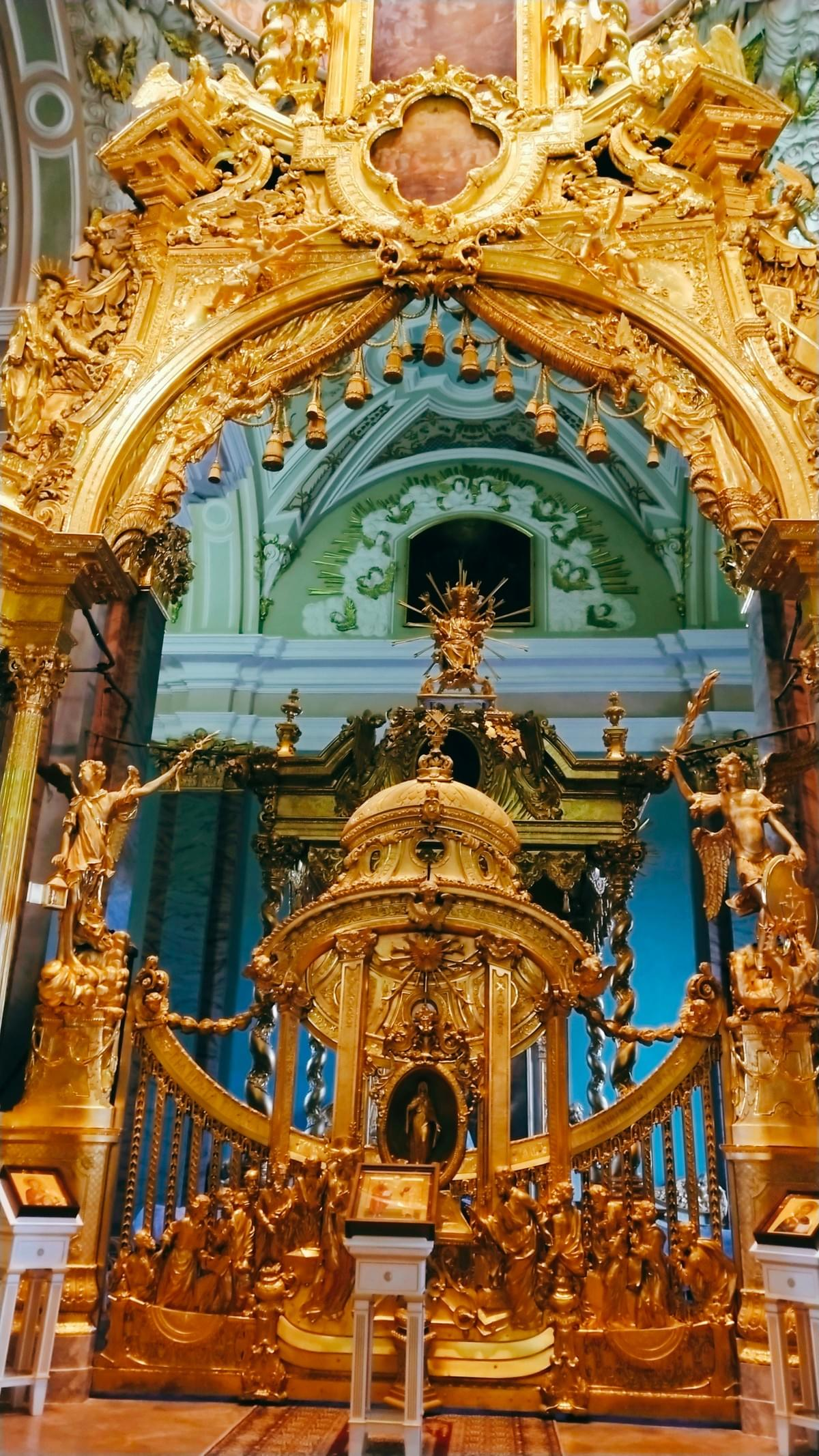 Inside Peter and Paul Cathedral - Best Places To Visit In St. Petersburg