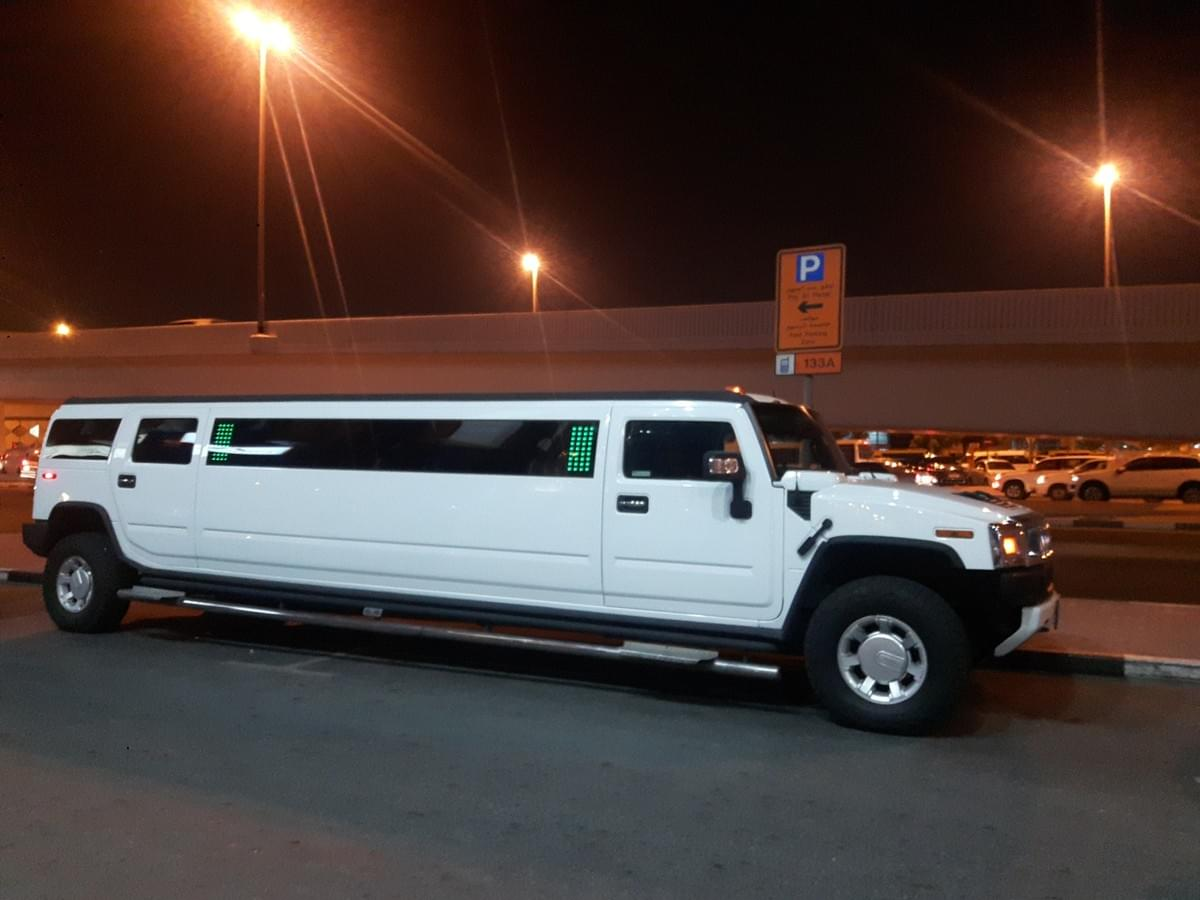 Limousine Ride at Dubai - Places to Visit in Dubai