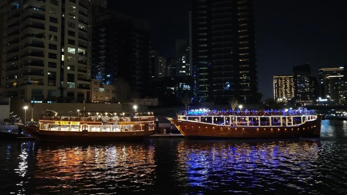 Marina Dhow Dinner Cruise - Places to Visit in Dubai