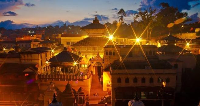 Pashupatinath Temple. The Base of Mt. Everest KATHMANDU