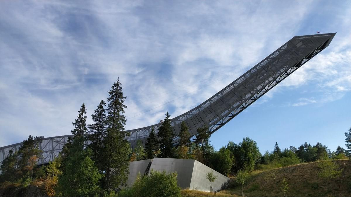 Places to Visit in Oslo - Holmenkollen Ski Jump in Summer