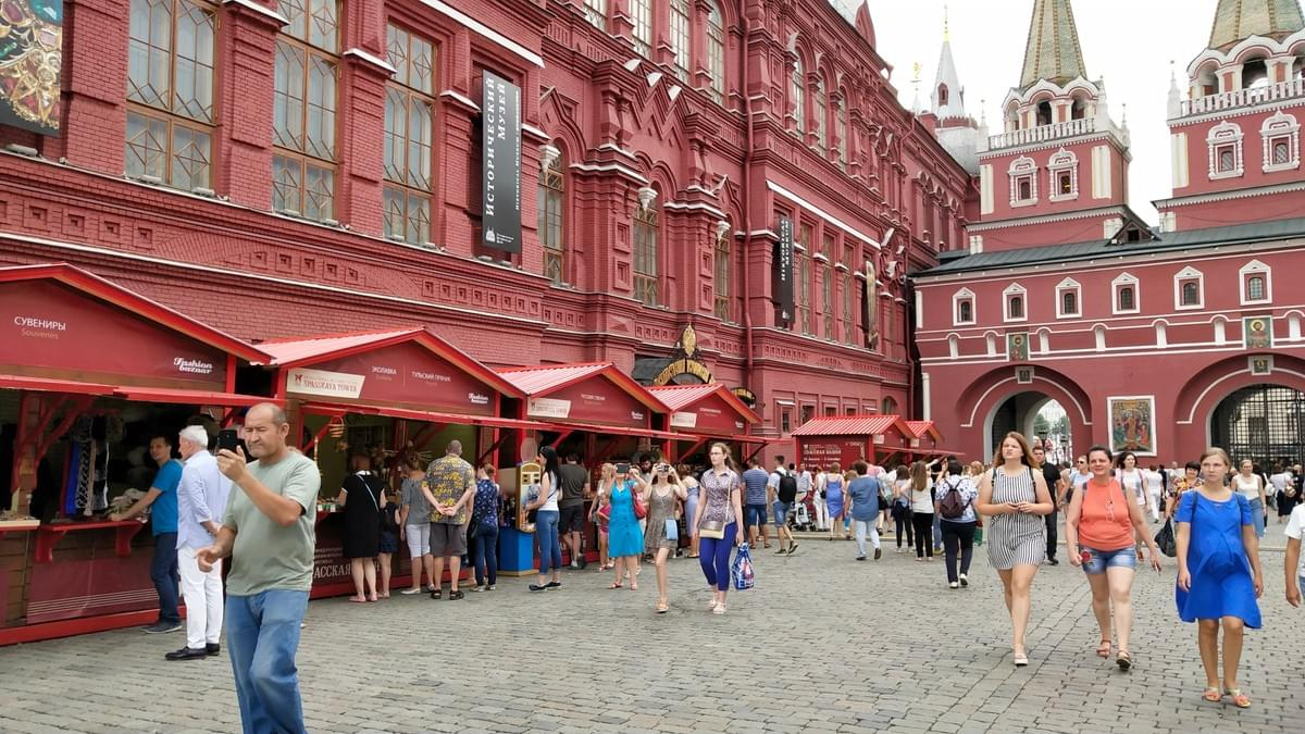 Red Square - Visit Moscow in 2 Days