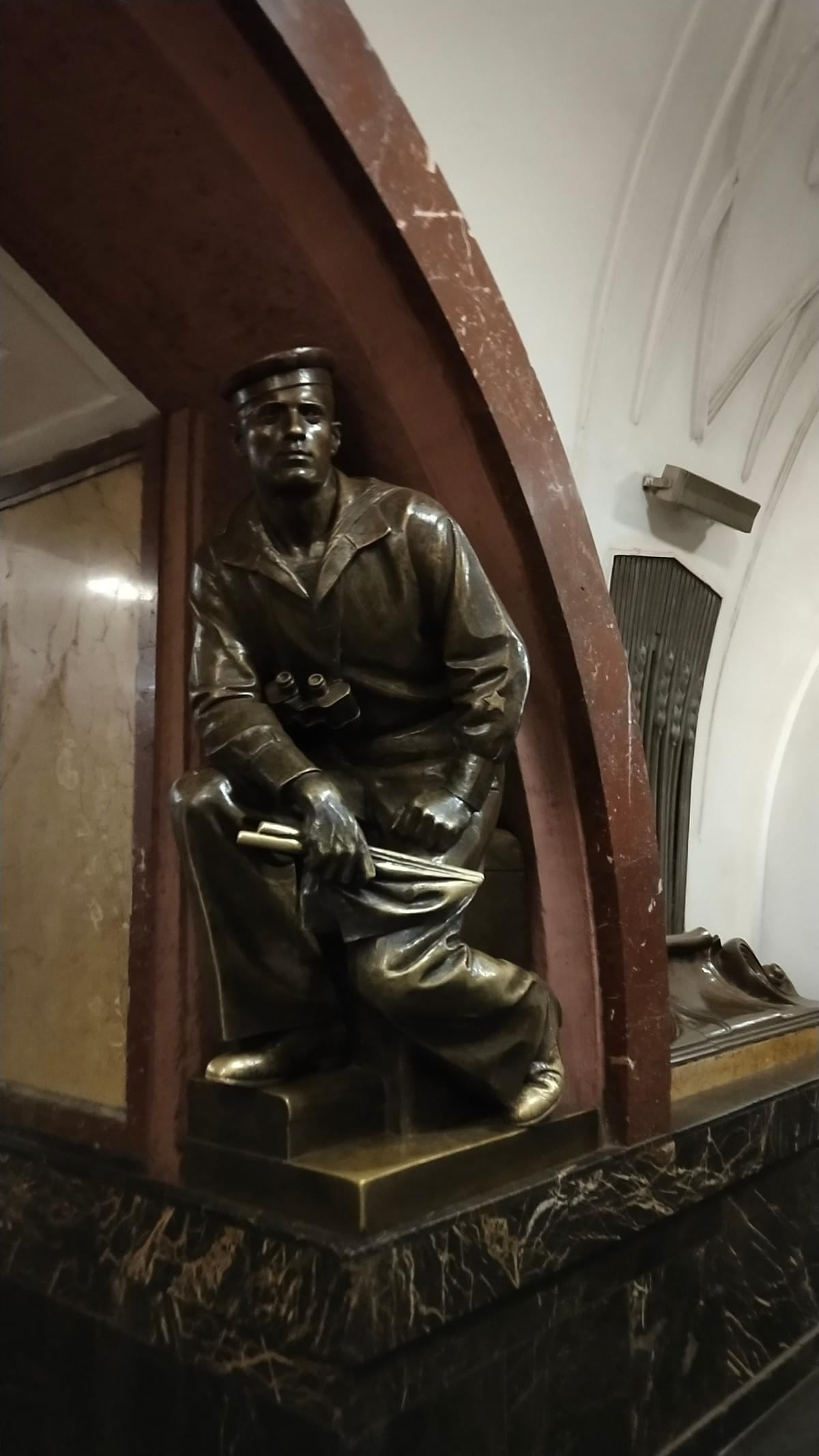 Revolution Square Metro Station - Visit Moscow in 2 Days