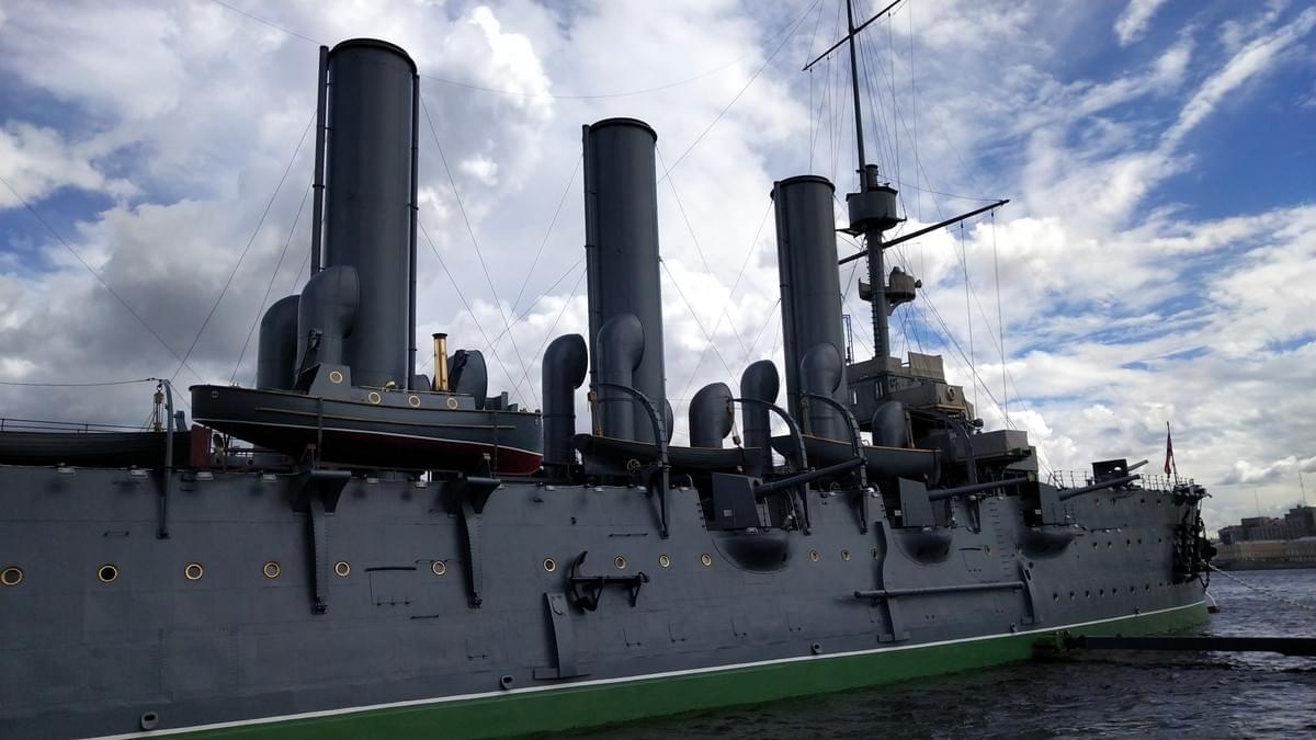 Russian Cruiser Aurora - Best Places To Visit in St. Petersburg