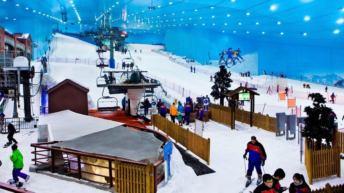 Ski Dubai -Places to Visit in Dubai