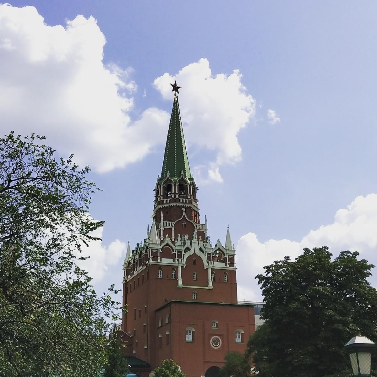 The Kremlin Tower - Visit Moscow in 2 Days