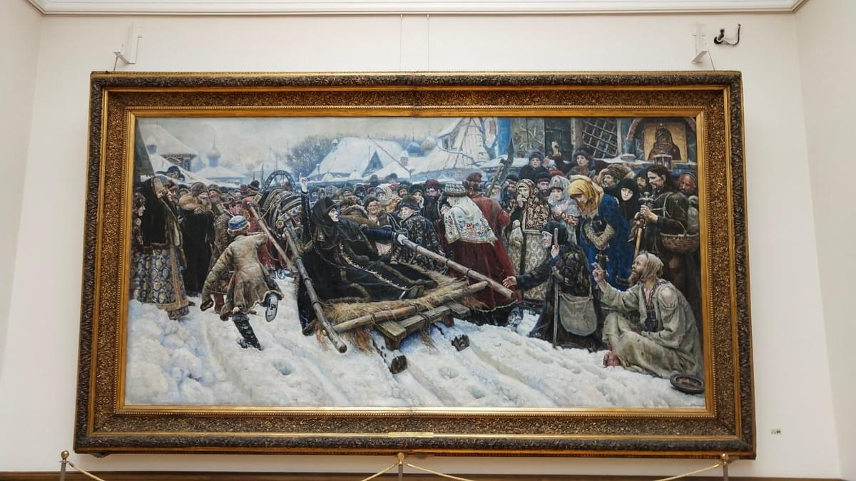 Tretyakov State Gallery Art - Visit Moscow In 2 Days