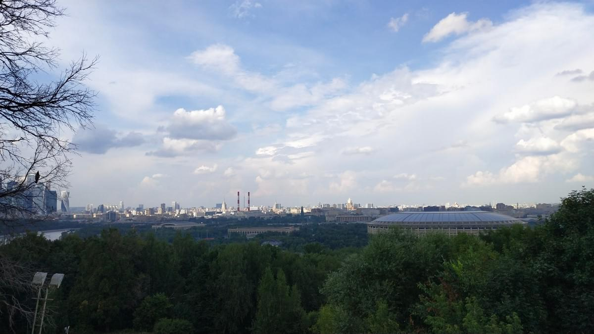 View from Sparow Hills - Visit Moscow in 2 Days