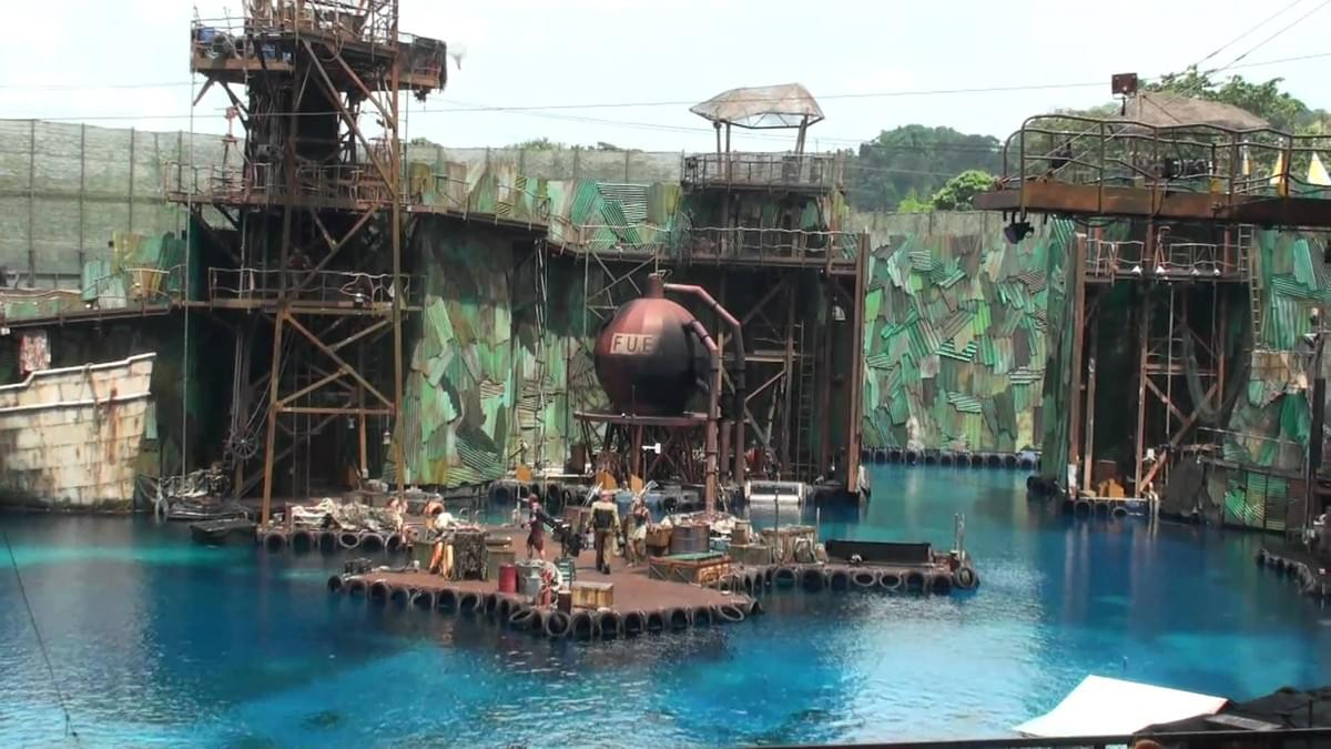 Water World Show at Universal Studios Singapore