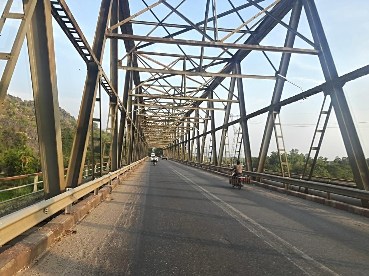 Bridge at Hpa An, Myanmar