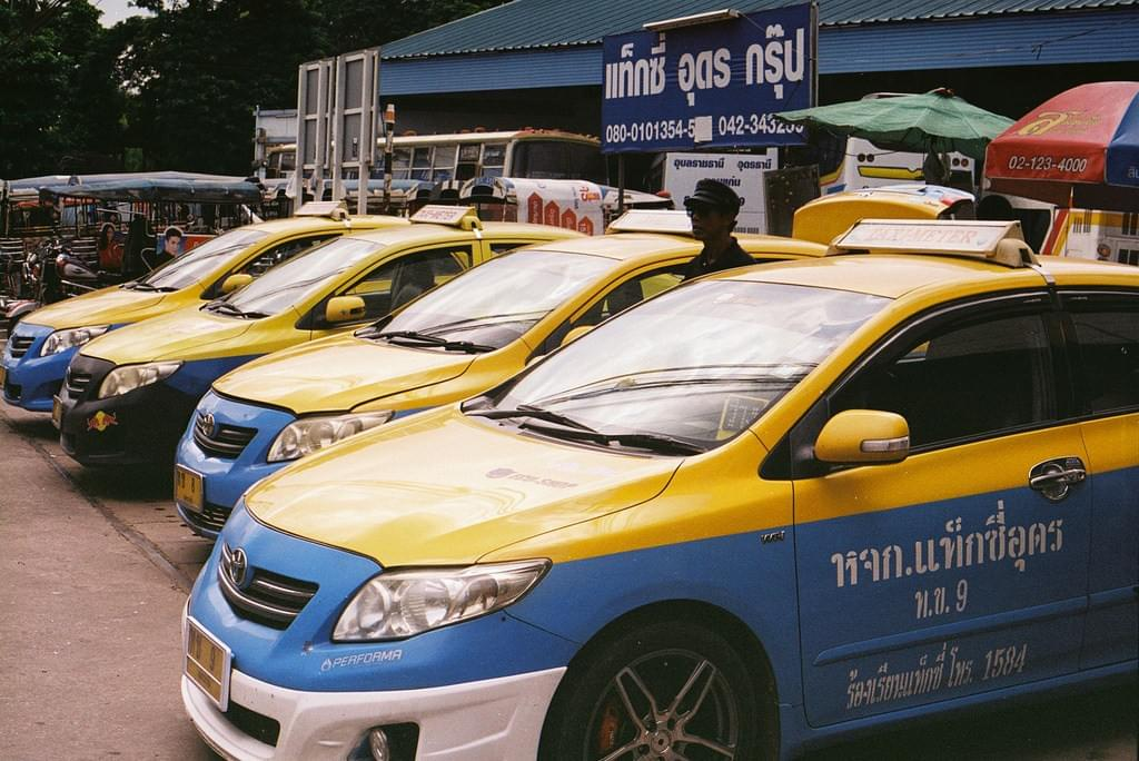 Meter Taxi, Thailand Transport.