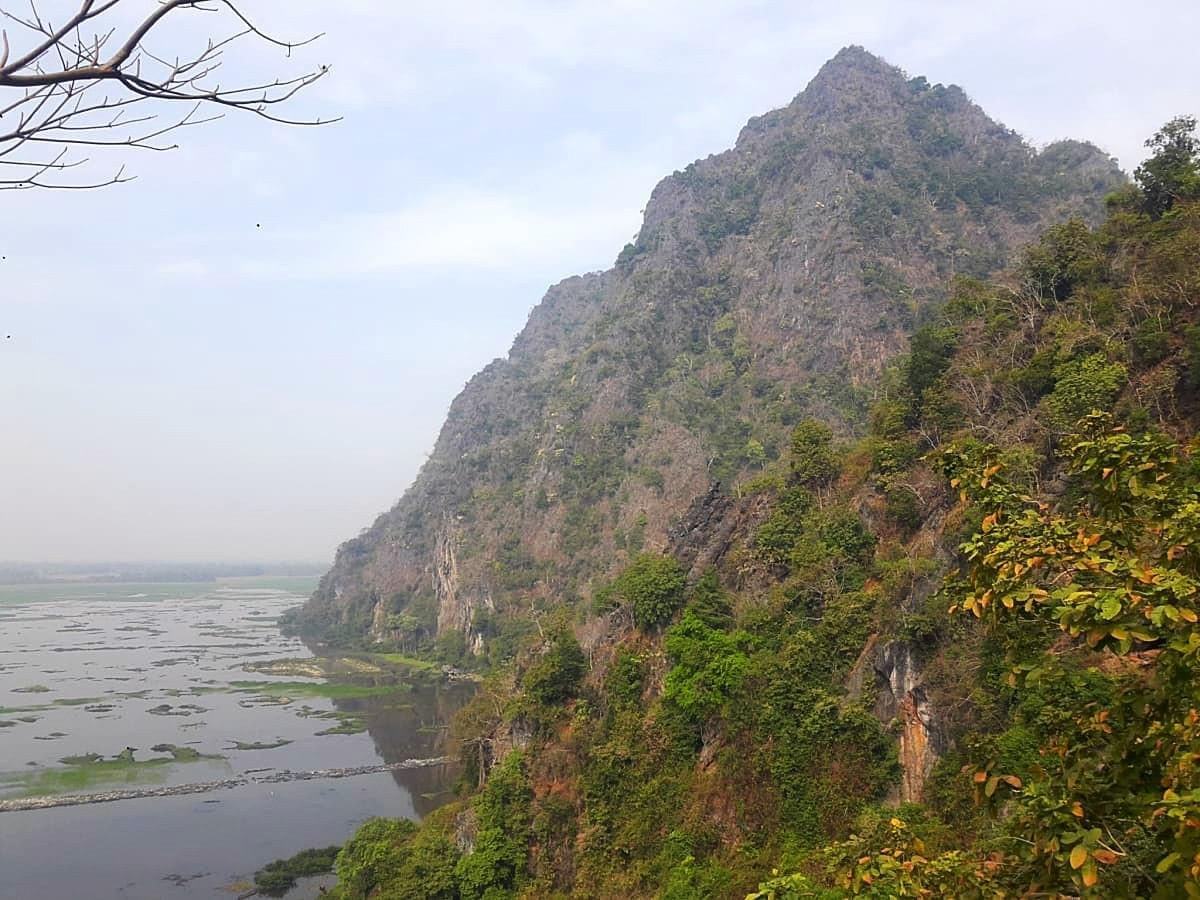 View from the Viewpoint Deck, Yatee Pyan Cave, Hpa An, Myanmar