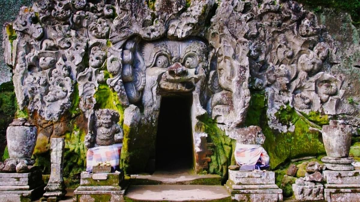 Goa Gajah Temple. Best Places to Visit In Bali.