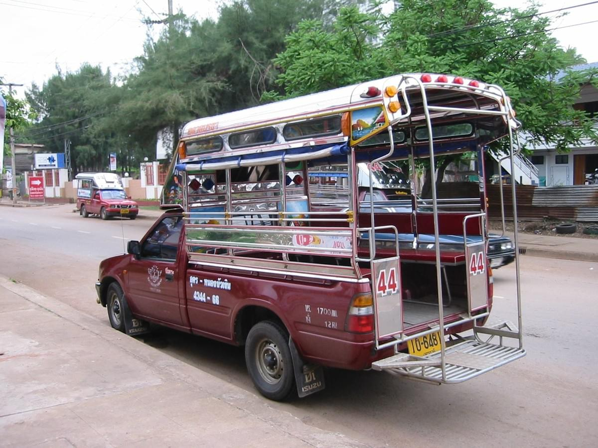 Song Teaw, Thailand Transport.