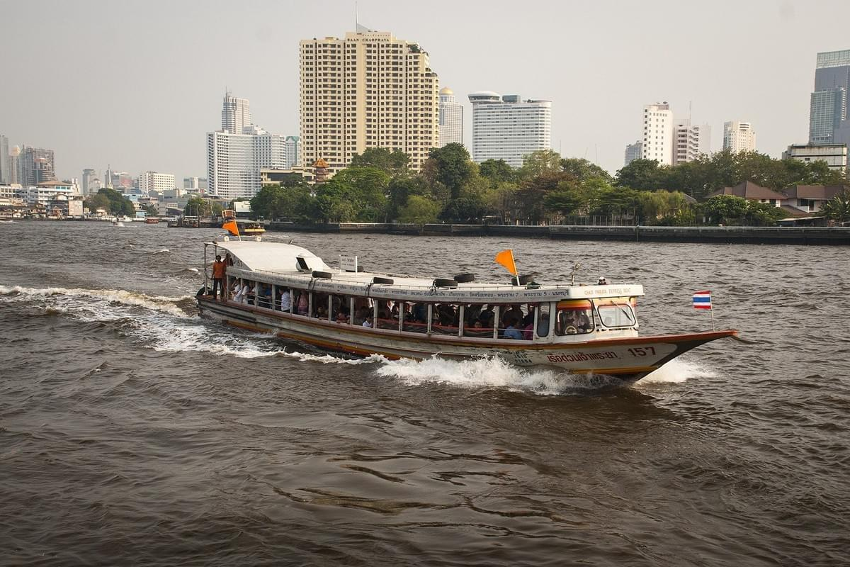 Water Taxi, Thailand Transport.