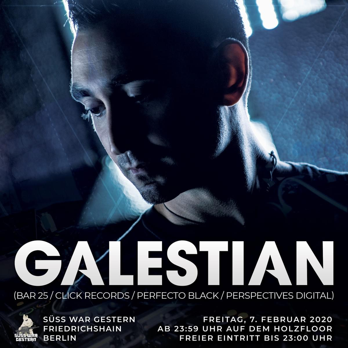 Galestian - Live at Süss War Gestern, Berlin (7-hour set) - 7 Feb 2020