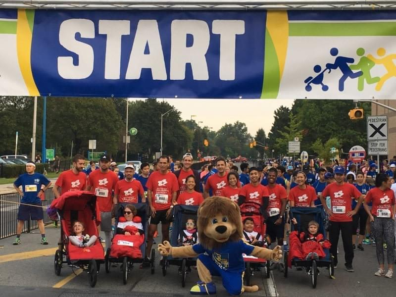 mTT starting the RBC Race for Kids!