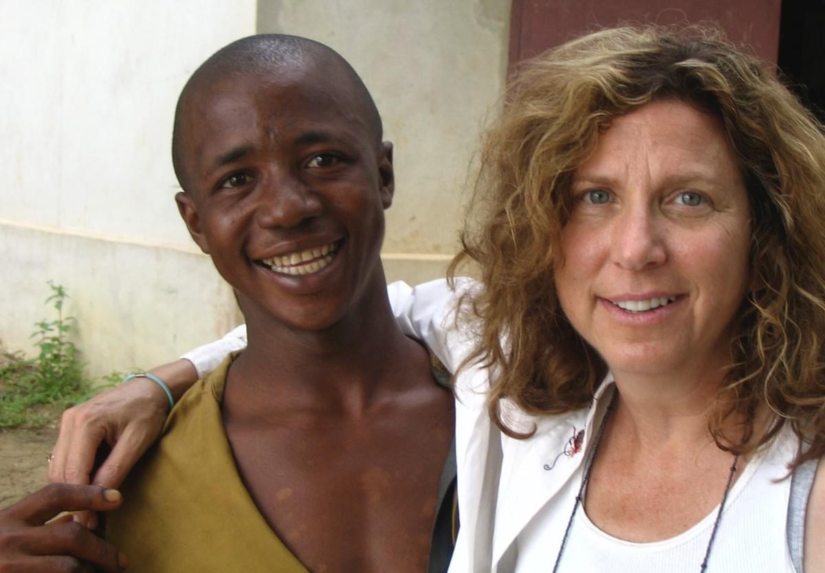 Cowgirls & Pirates founder Susan Zakin in Madagascar
