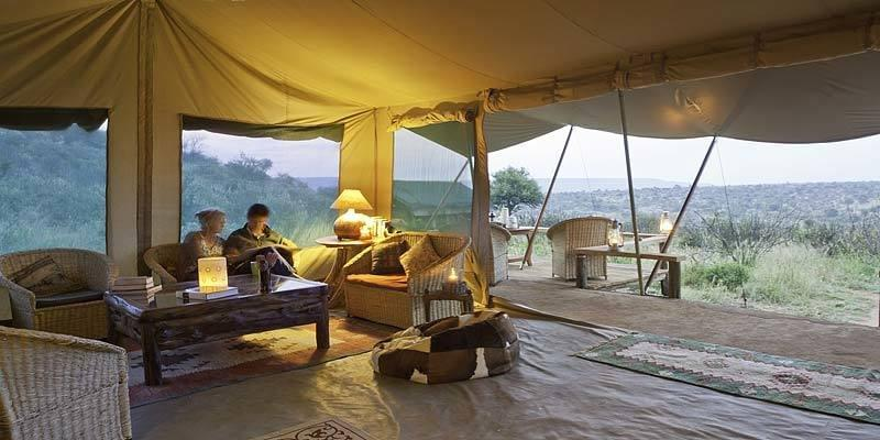 The Laikipia Wilderness Bush Camp is great for families
