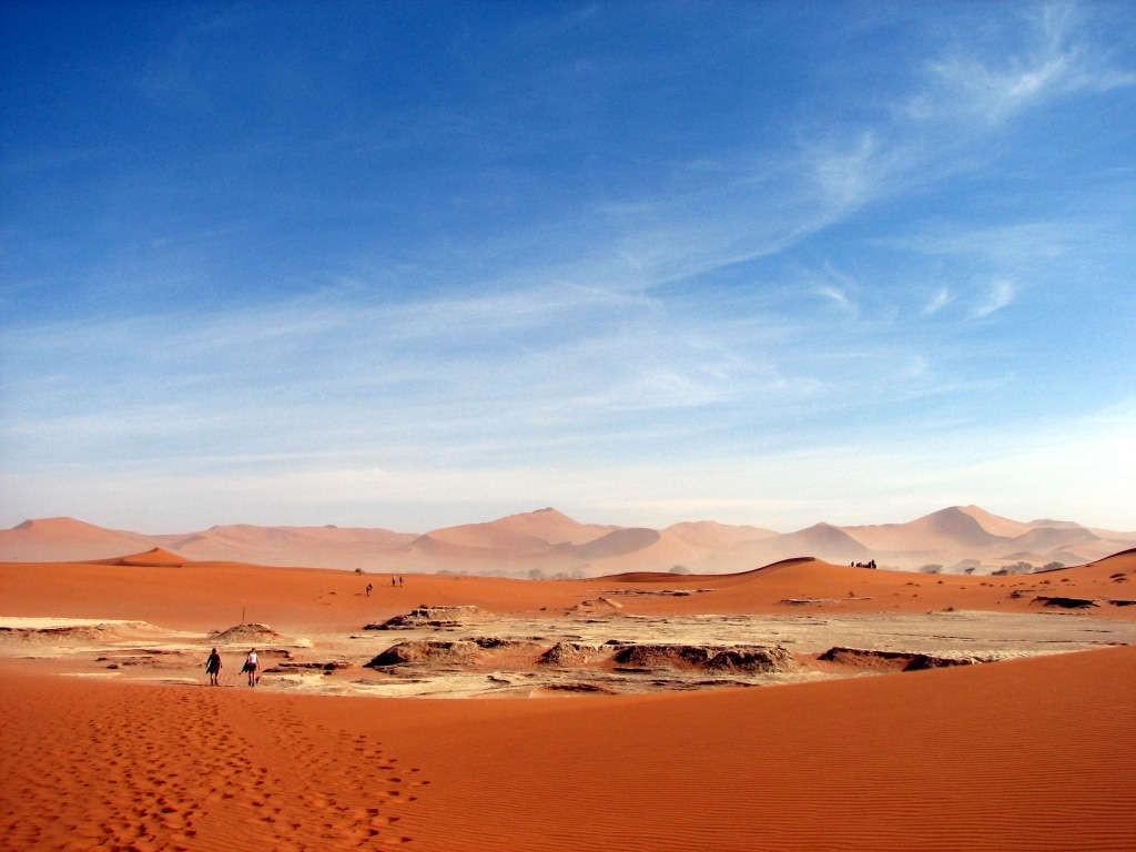 Dunes of Sossuvlei, Namibia's largest protected area
