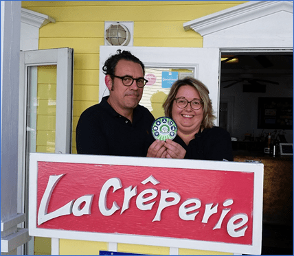la creperie french cafe green business